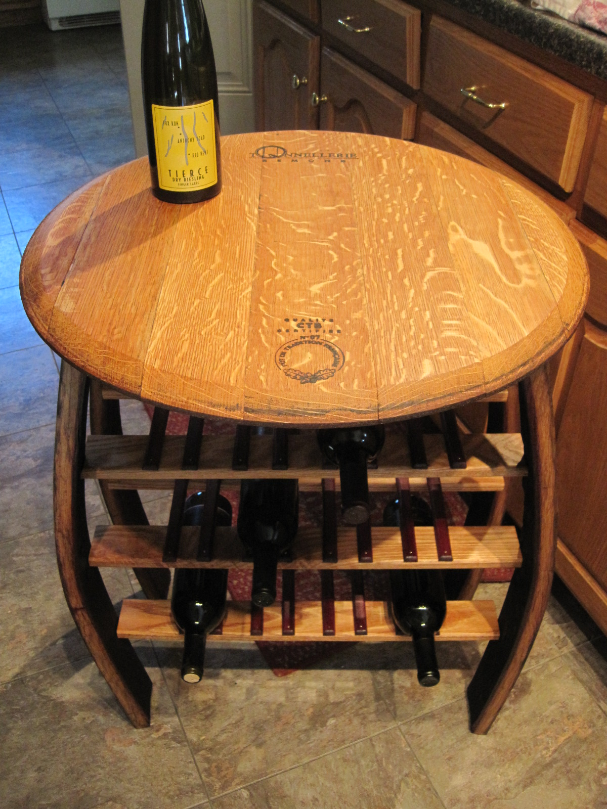 Custom Wine Barrel Furniture