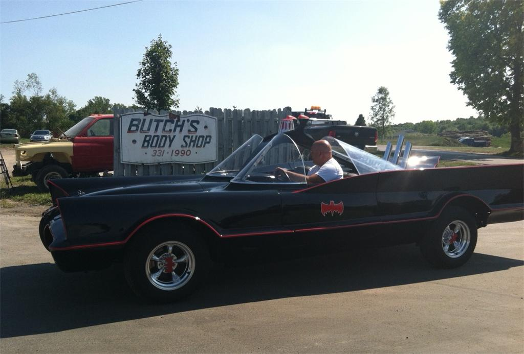 Custom, Homemade Batmobile in Newark, NY