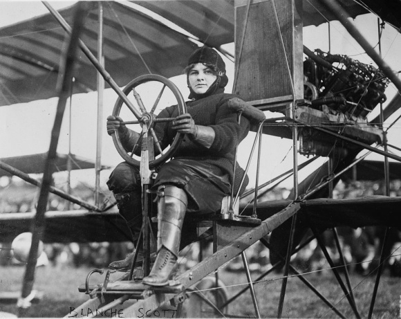 102 Years Ago: First Woman Pilot Flies One of Curtiss' Planes in Hammondsport