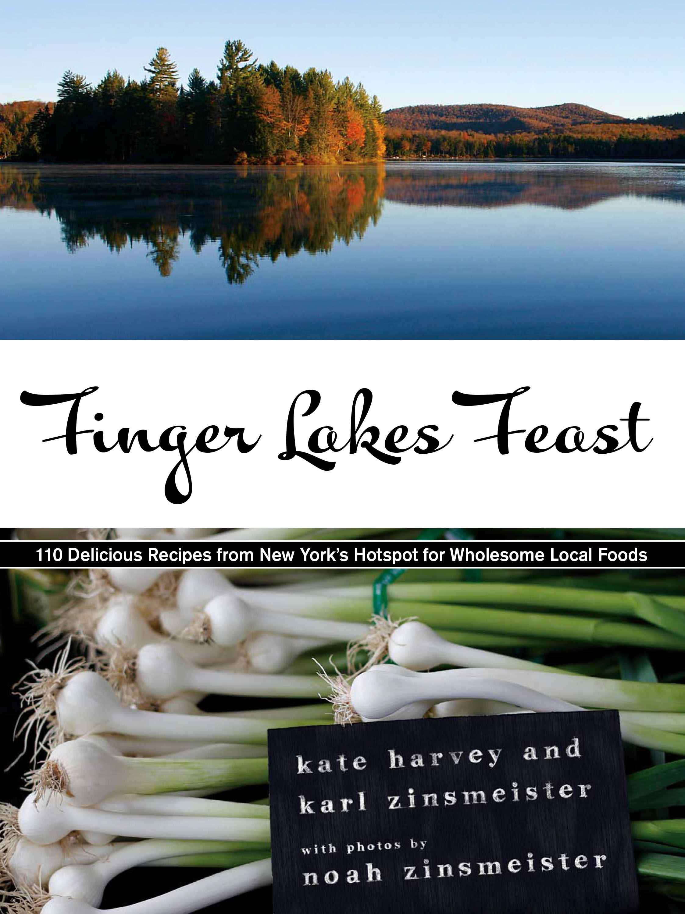 New Finger Lakes Cookbook on Shelves November 1st