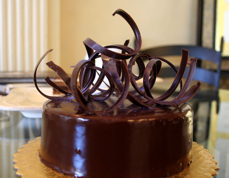 Flourless Chocolate Torte - Sarah's Patisserie in the Finger Lakes