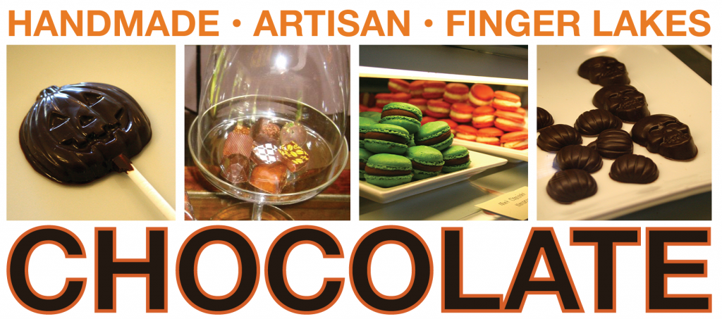 Handmade, artisan, Finger Lakes chocolate