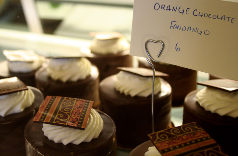 Orange Chocolate Fandango - Sarah's Patisserie in the Finger Lakes