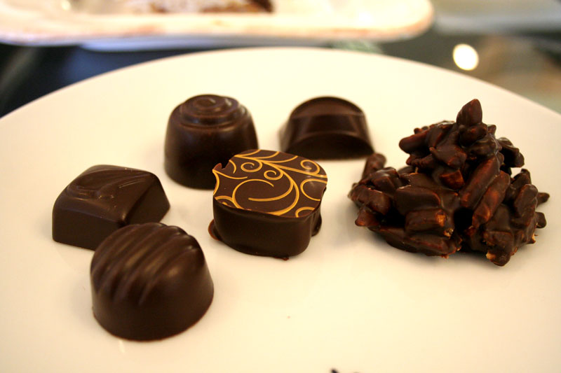 Assorted Chocolates - Sarah's Patisserie in the Finger Lakes