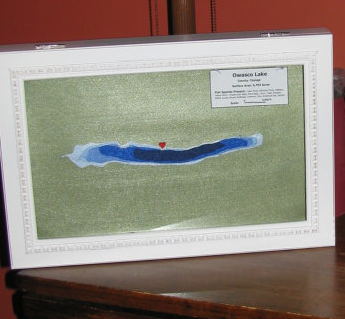 Finger Lakes felt topography bathymetric map - Owasco - InTheFingerLakes.com