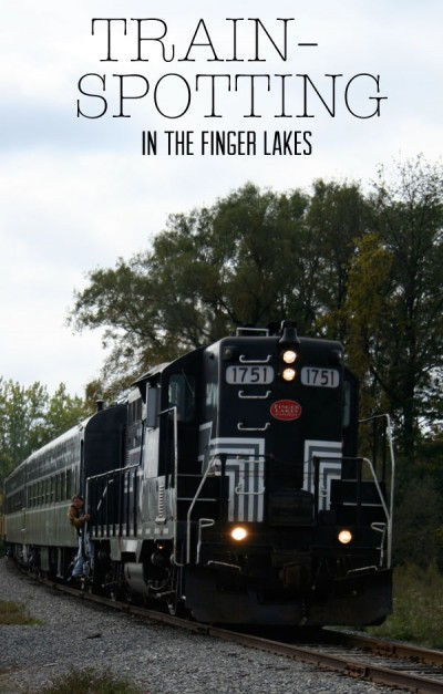 Trainspotting In The Finger Lakes
