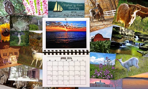 Finger Lakes Photography Calendar (2014) Giveaway