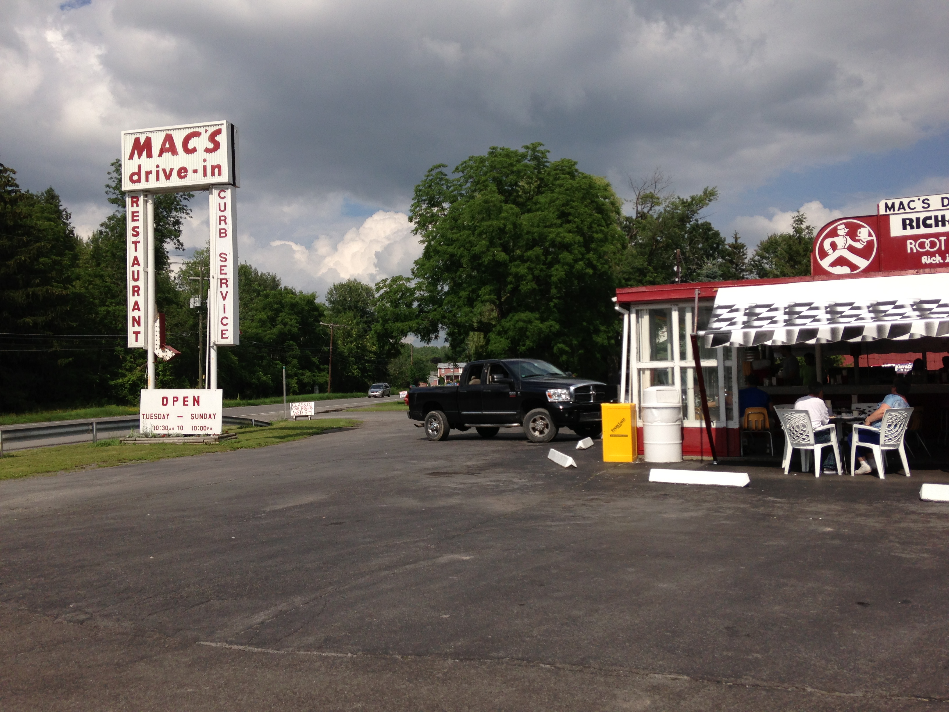 Mac's Drive-In – Clearly a Favorite Place in the Finger Lakes