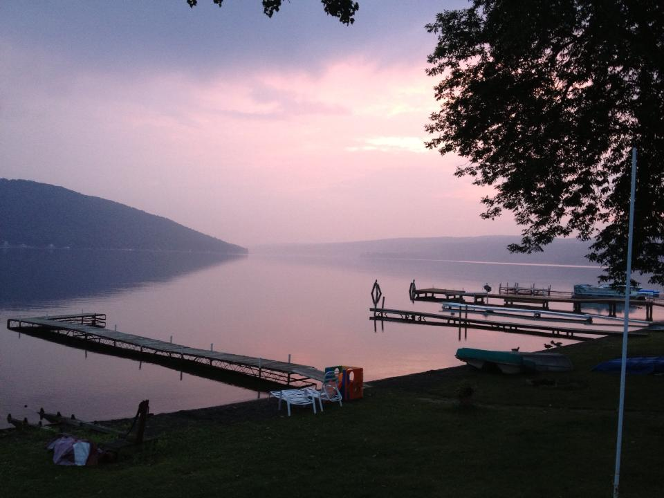 Purple Haze on Keuka