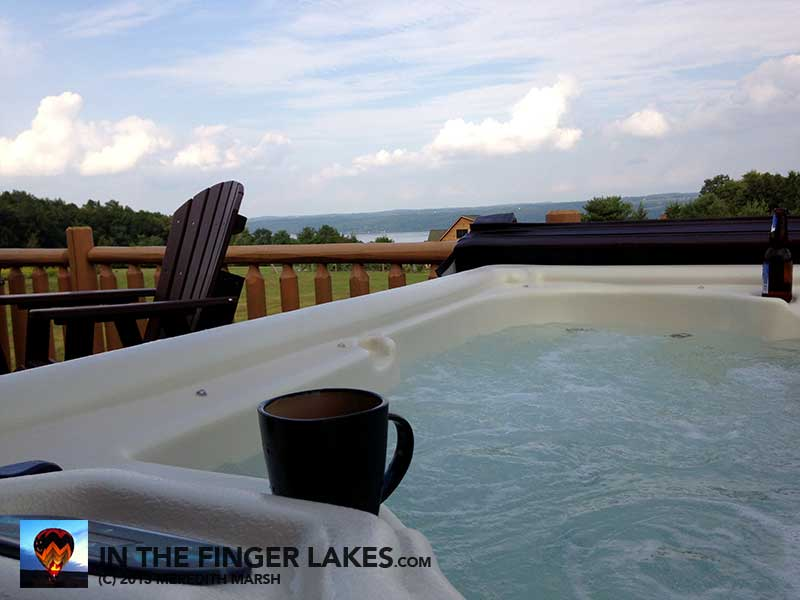 HOT TUB! @ Castle Point Paradise [InTheFingerLakes.com]