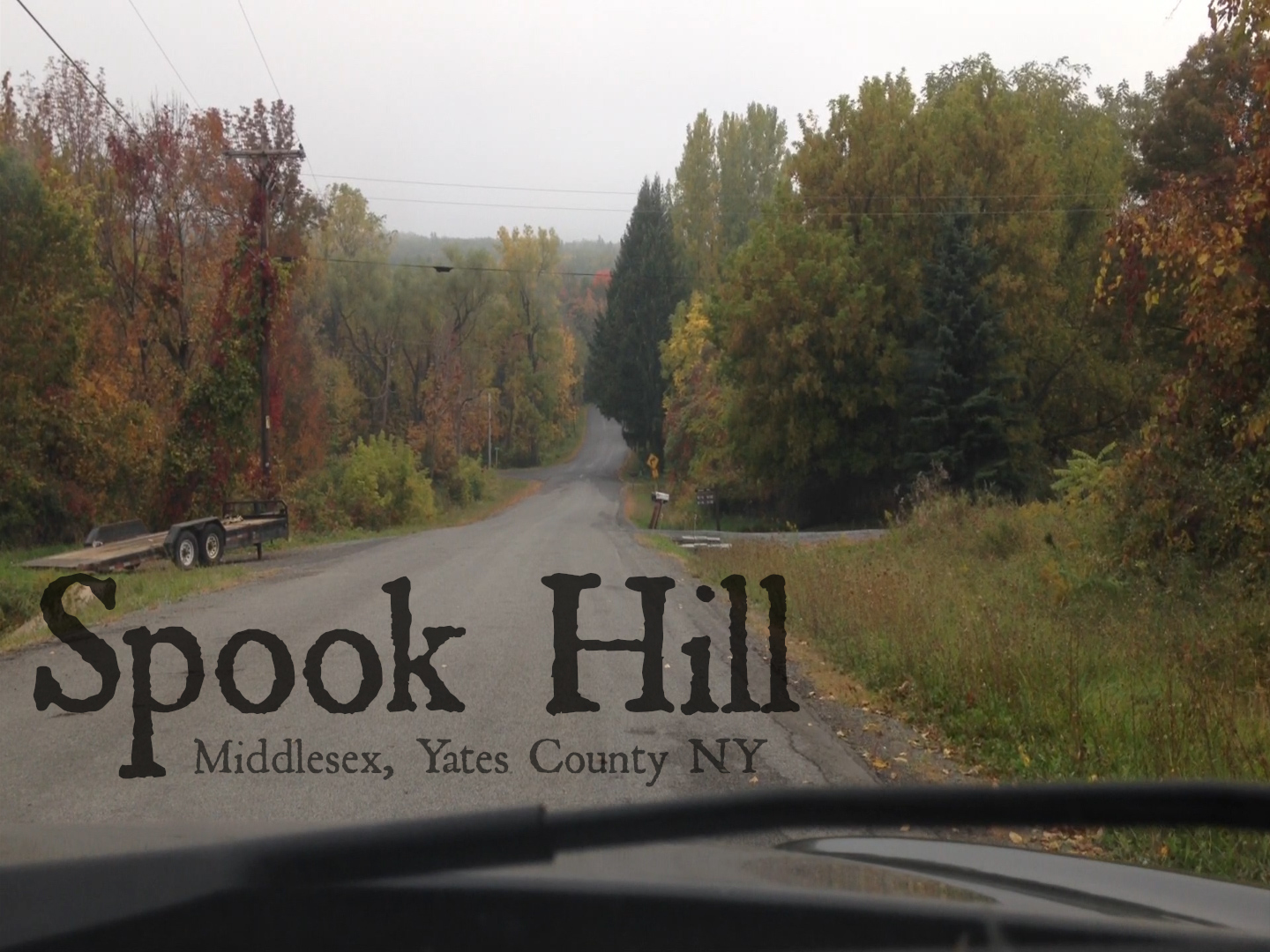 Spook Hill – Middlesex, Yates County, NY [Video]