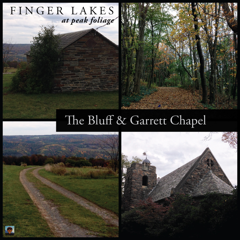 Leaf Peeping in the Finger Lakes [Peak] Exploring The Bluff & Garrett Chapel