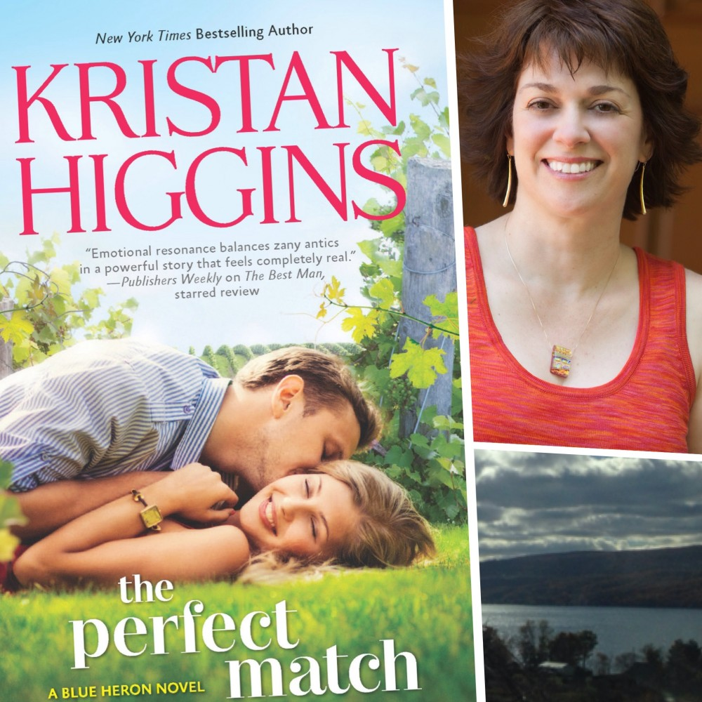 [Giveaway!] Book 2 of Finger Lakes Romance Novel: The Perfect Match by Kristan Higgins