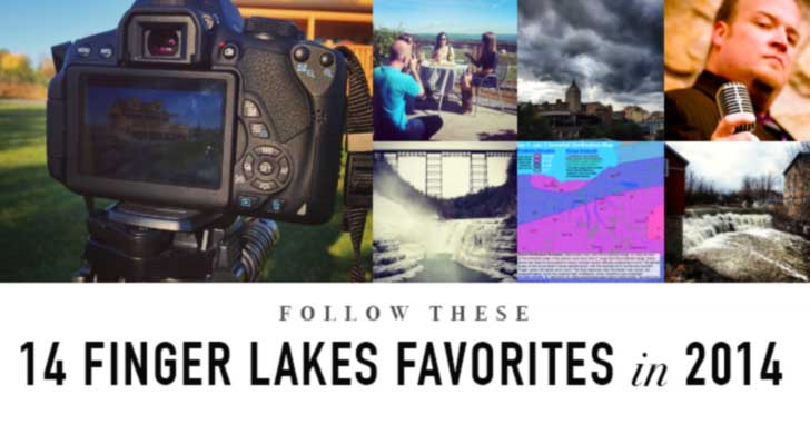 14 Finger Lakes Favorite People to Follow in 2014