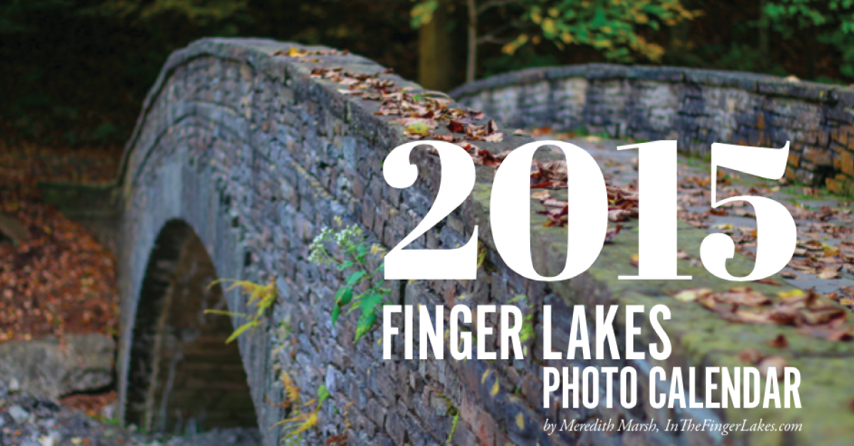 3… 2… 1… LAUNCH! Finger Lakes Photo Calendar NOW FOR SALE!