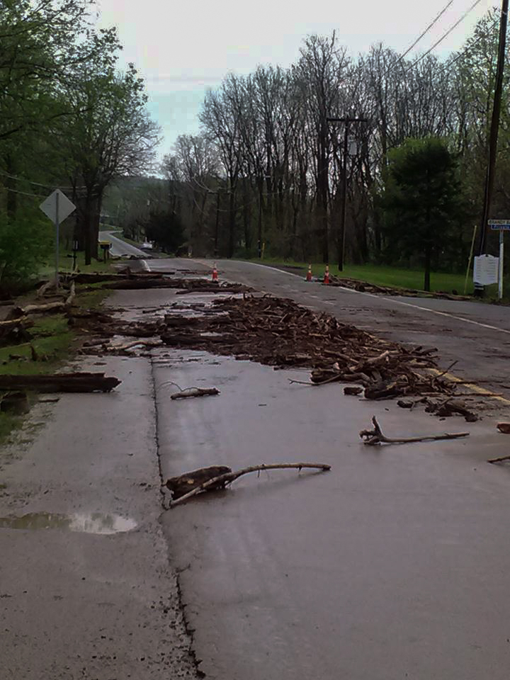 West Lake Road in Penn Yan Photo via Grace Volt