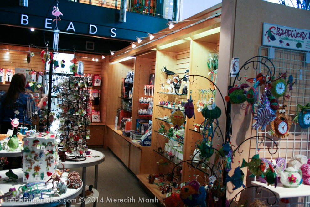 Gift Shop at Corning Meseum of Glass - InTheFingerLakes.com