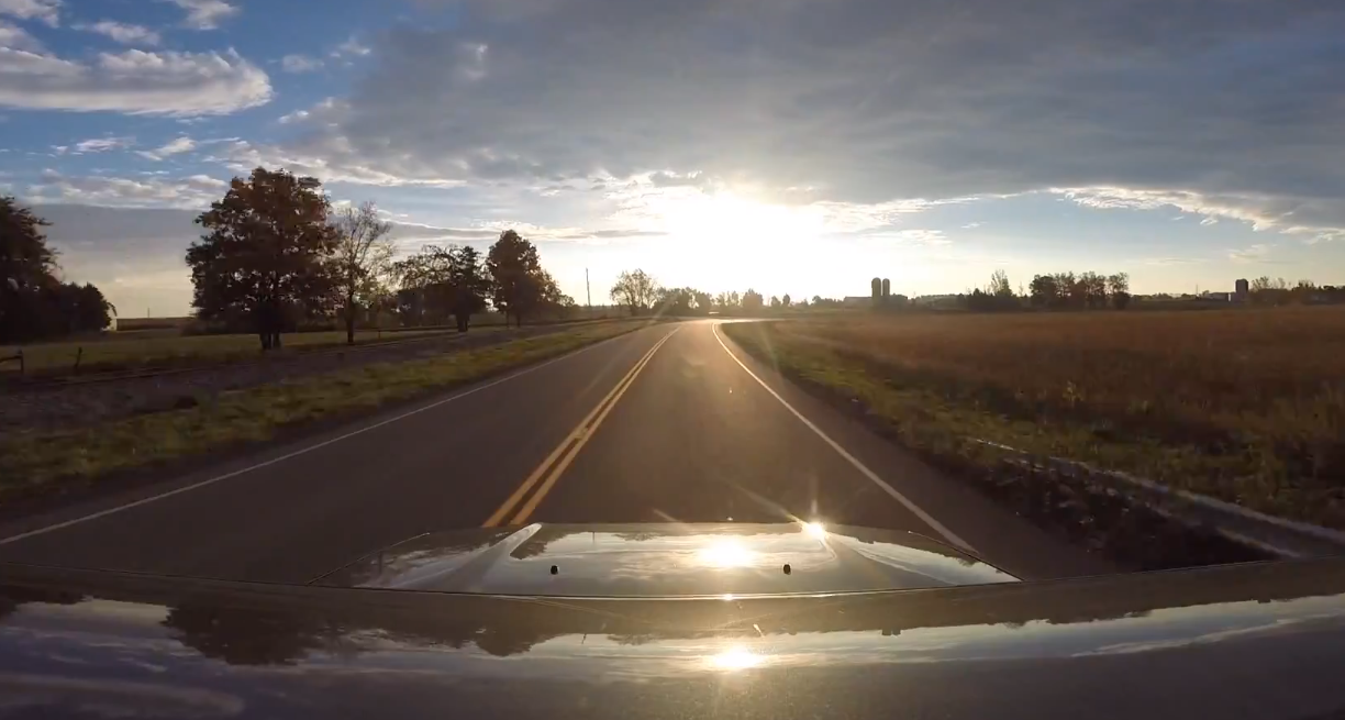 Take A Drive With Me… and watch as my GoPro flies off my car