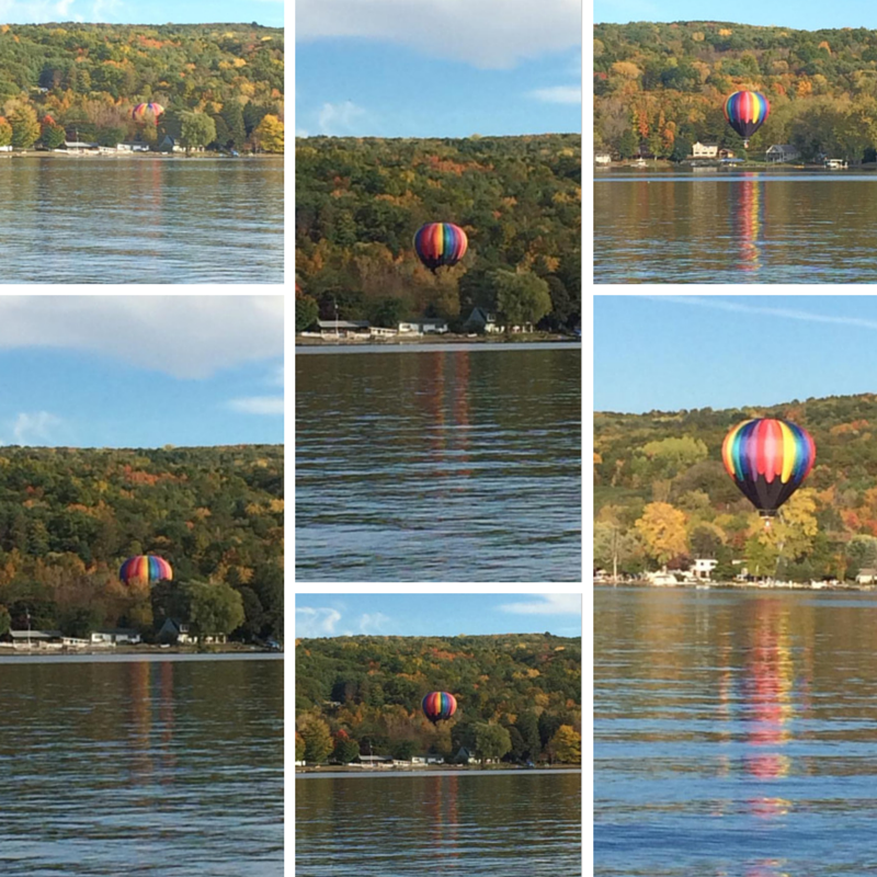 Hot Air Ballooning in the Finger Lakes - Photos by Jay Darks
