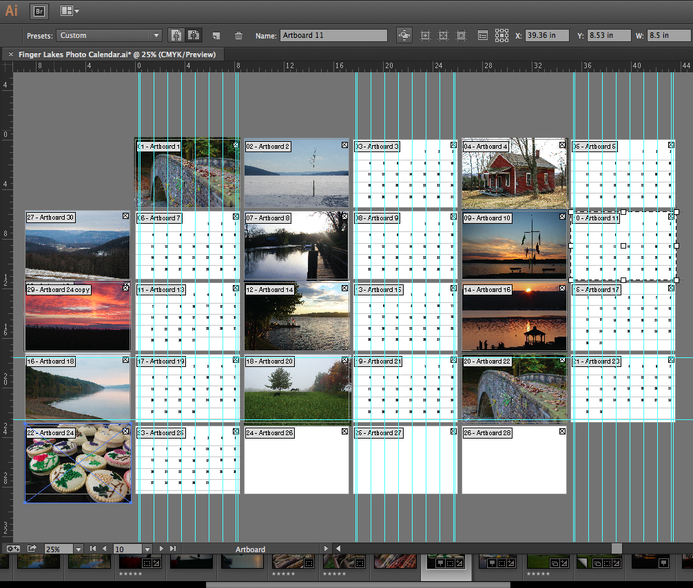 Finger Lakes Photo Calendar - Sneak Peek