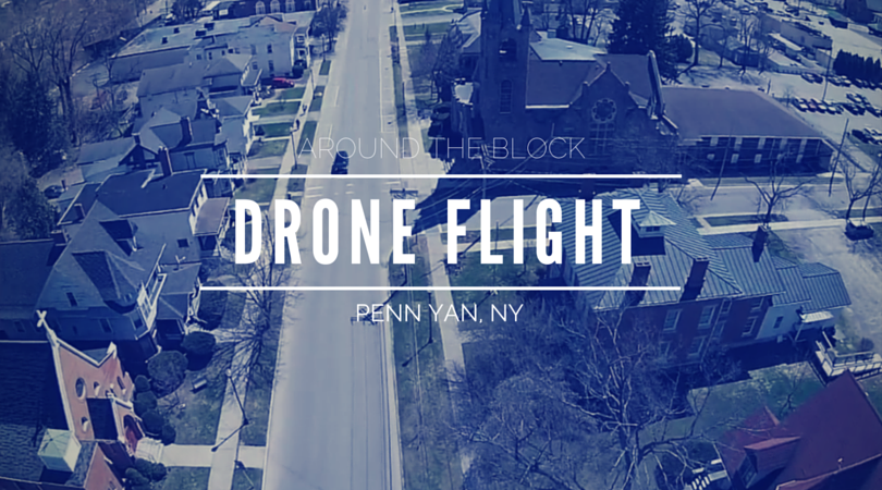 Check out Beautiful Penn Yan from an Aerial Camera